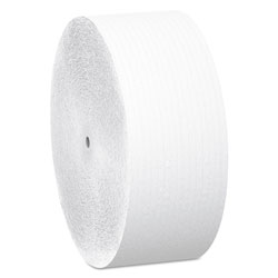 "Scott® Bulk Coreless JRT Jr. Roll, White, 3 9/10"" x 2,300 Feet, 12 Rolls/Carton"