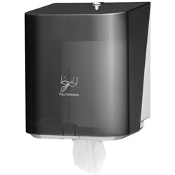 Kimberly-Clark Centerpull Paper Towel Dispenser, Translucent Black