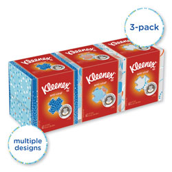 Kleenex Boutique Antiviral 3-Ply Facial Tissue, 3 Boxes of 75