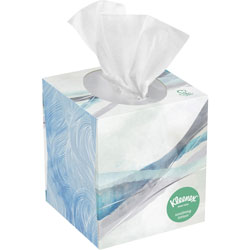 Kleenex Lotion 3-Ply Facial Tissue, Box of 75