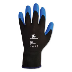 Kleenguard® G40 Purple Nitrile Foam Coated Gloves, Medium Size, Blue
