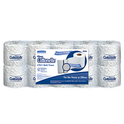 Kleenex Cottonelle® 2 Ply Bulk Bathroom Tissue, 505 Sheets/Roll
