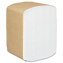 Kimberly-Clark Full Fold Dispenser Napkins, 1-Ply, 13 x 12, White, 375/Pack