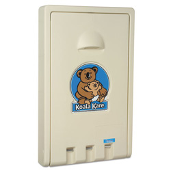 Koala Kare Cream Vertical Baby Changing Station