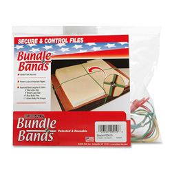 Kleer-Fax Bundle Bands, 10/PK, Assorted