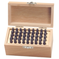 KnKut 36 PIece Letter and Number Punch Set - 5/32""