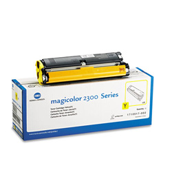 QMS 1710517002 Toner, 1500 Page-Yield, Yellow