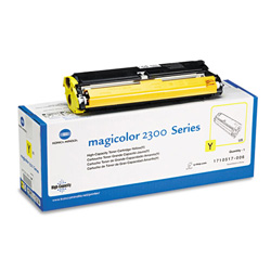 Konica Minolta® 1710517006 High-Yield Toner, 4500 Page-Yield, Yellow