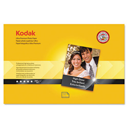 Kodak Photo Paper, High Gloss, Ultra Premium, 11 x 17, 20 Sheets