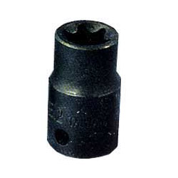 "K Tool International 3/8"" Drive External Torx Socket E 18"