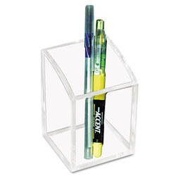 Kantek Clear Acrylic Pencil Holder