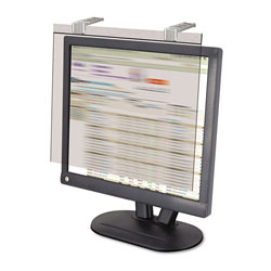 "Kantek Privacy Filter/Screen Protector For 20"" LCD Screens, Silver"