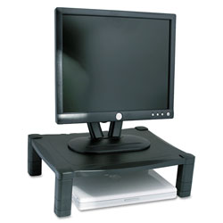 Kantek Single Level Stand without Drawer, Black