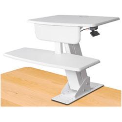Kantek Desk Sit To Stand Workstation 26 3 4 Quot X 24 1 2 Quot X