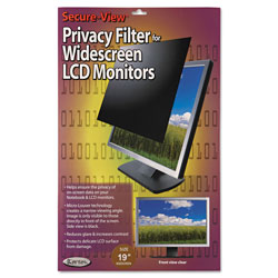 "Kantek Privacy Screen Filter For 19"" Widescreen LCD"