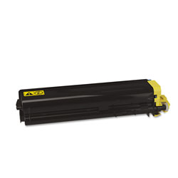 Kyocera TK512Y Toner, 8000 Page-Yield, Yellow
