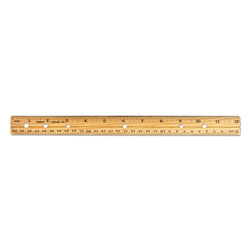 Charles Leonard Economical Wood Ruler