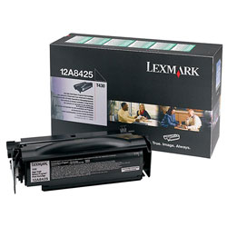 Lexmark Return Program High Yield Toner Cartridge, T430, Black