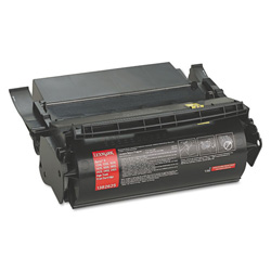 Lexmark High Yield Toner Cartridge for Optra S, Black