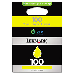 Lexmark 14N0902 Ink Tank, 200 Page-Yield, Yellow