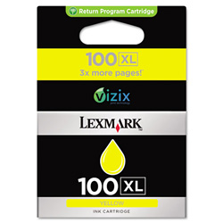 Lexmark Ink Tank, 600 Page Yield, Yellow
