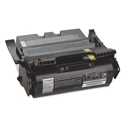Lexmark Print Cartridge for T640 Laser Printers, High Capacity