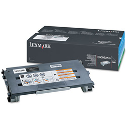 Lexmark Laser Toner Cartridge for C500n, Black