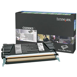 Lexmark Toner Cartridge for C520, Return Program, Black
