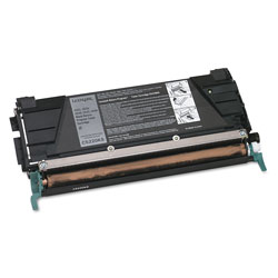 Lexmark Toner Cartridge for C522/C524 Laser Printers, Return Program, Black