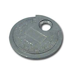 "Lisle Coin Type .020 to .100"" Spark Plug Gauge"