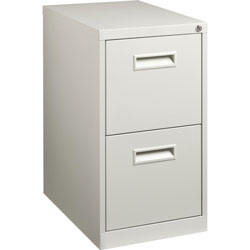 "Lorell File/File Pedestal, 15""x20""x28"", Light Gray"