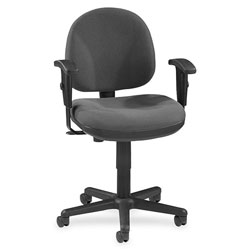 Lorell Swivel Task Chair, Gray
