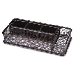Lorell mesh desk drawer organizer black llr84146 - Black mesh desk organizer ...