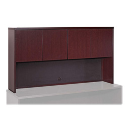 "Lorell Stack-on Storage, 72"" x 14"" x 39"", Mahogany"
