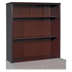 "Lorell Stack-on Bookcase, 34"" x 20"" x 39"", Mahogany"
