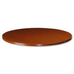 "Lorell Round Table Tops, 42""D, Cherry"