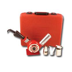 Master Appliance Heat Gun w/3 Attachments & Case