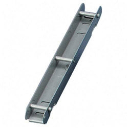 "Master Pro Master Mfg® Post Section for Master Catalog Rack System, Gray, 1"" Capacity"
