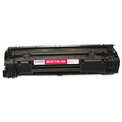 Micromicr Corporation MICRTHN35A MICR Toner Cartridge, Black