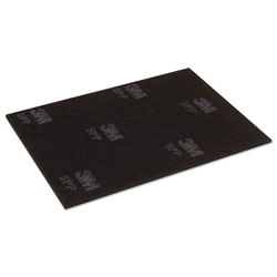 Scotch Surface Preparation Pad, 14 x 28, Maroon, 10/Carton
