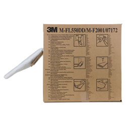 3M High-Capacity Maintenance Folded Sorbent, 10.5gal Capacity, 3/Carton