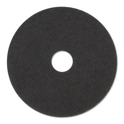 "3M 14"" Black Stripper Floor Pads"