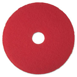 "3M 24"" Red Buffer Floor Pads"