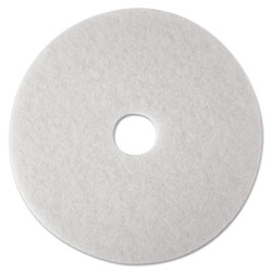 "3M 14"" White Super Polish Floor Pads"
