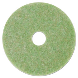 "3M Low-Speed TopLine Autoscrubber Floor Pads 5000, 17"", Sea Green, 5/Carton"