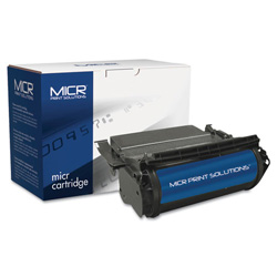 MICR Print Solutions 2450M Compatible MICR Toner, 17600 Page-Yield, Black