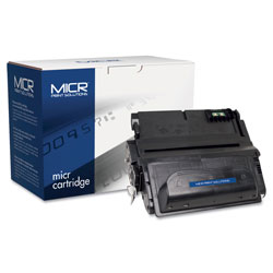 MICR Print Solutions 38AM Compatible MICR Toner, 12000 Page-Yield, Black
