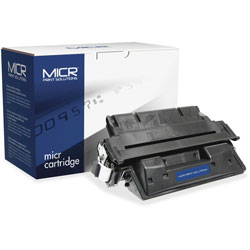 MICR Print Solutions 61XM Compatible High-Yield MICR Toner, 10000 Page-Yield, Black