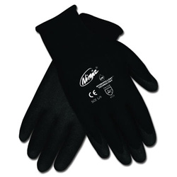 Memphis Glove Ninja HPT PVC coated Nylon Gloves, Extra Large, Black