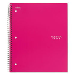 Mead Trend Notebooks, Perforated, 1-Subject, 100/Sht, Assorted